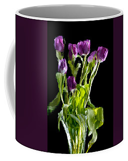 Coffee Mug featuring the photograph Tulip Impressions Vi by Penny Lisowski