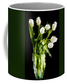 Coffee Mug featuring the photograph Tulip Impressions Vii by Penny Lisowski