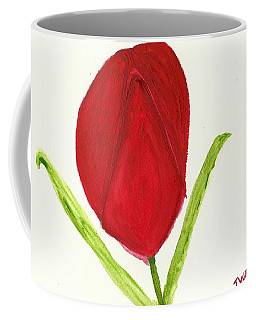 Tulip Of The Heart Coffee Mug