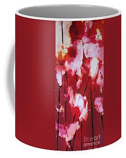 Coffee Mug featuring the painting Tulip Twist by Sandra Strohschein