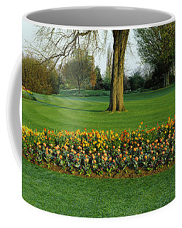 Tulips In Hyde Park, City Coffee Mug