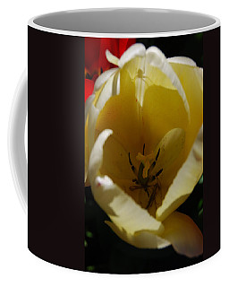 Tulip's Kiss Coffee Mug by Jani Freimann