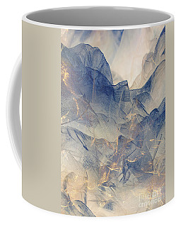 Tulle Mountains Coffee Mug by Klara Acel