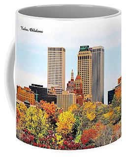 Tulsa Oklahoma In Autumn Coffee Mug