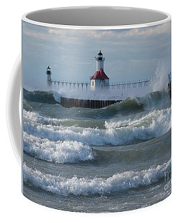 Tumultuous Lake Coffee Mug