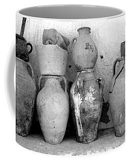 Coffee Mug featuring the photograph Tunisian Pottery by Randi Grace Nilsberg