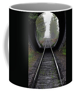 Tunnel Into The Mist  Coffee Mug