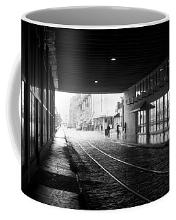 Tunnel Reflections Coffee Mug by Lynn Palmer