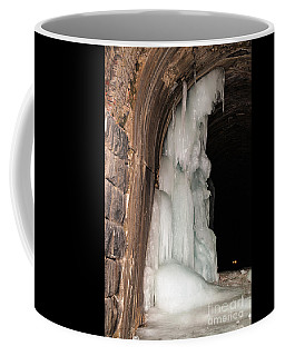 Coffee Mug featuring the photograph Tunnel Temptress by Sue Smith