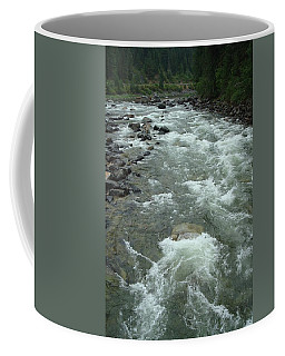 Turbulent Lochsa River Coffee Mug