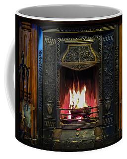 Turf Fire In Irish Cottage Coffee Mug