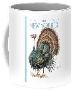 Turkey Wearing A False Pig Nose Coffee Mug