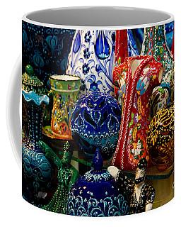 Turkish Ceramic Pottery 2 Coffee Mug