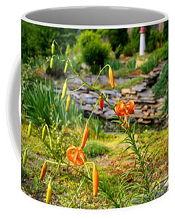 Coffee Mug featuring the photograph Turk's Cap Lily by Kathryn Meyer