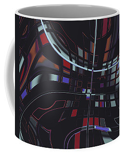 Coffee Mug featuring the digital art Turmoil by Judi Suni Hall
