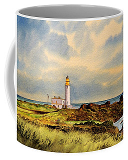 Turnberry Golf Course 9th Tee Coffee Mug