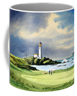 Turnberry Golf Course Scotland 10th Green Coffee Mug