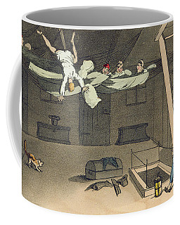 Turning In - And Out Again, Plate Coffee Mug