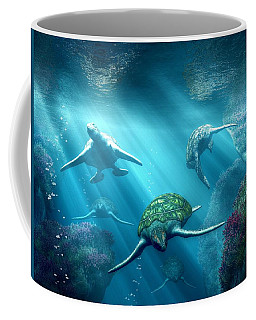 Turtle Alley Coffee Mug