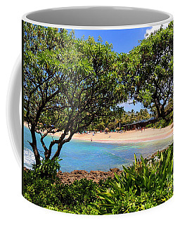 Coffee Mug featuring the photograph Turtle Bay Beach by Kristine Merc