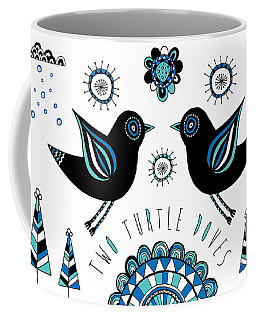Turtle Dove Coffee Mug