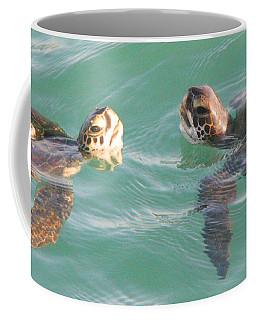 Sea Turtles Talking Coffee Mug