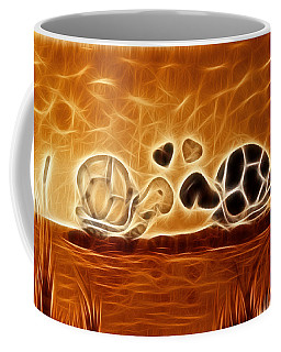 Turtles Love Fractalius Coffee Mug