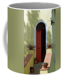 Tuscan Door Coffee Mug