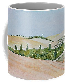 Tuscan Hillside One Coffee Mug by Mary Ellen Mueller Legault
