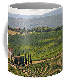 Tuscan Hillside Coffee Mug