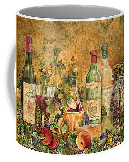 Tuscan Wine Treasures Coffee Mug by Jean Plout