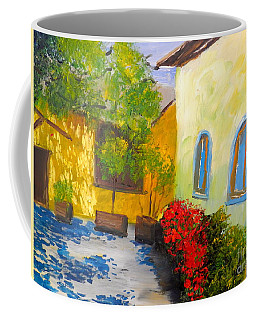 Tuscany Courtyard 2 Coffee Mug