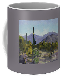The Serene Desert Coffee Mug
