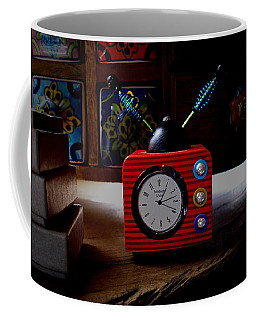 Tv Clock Coffee Mug