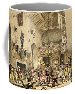 Twelfth Night Revels In The Great Hall Coffee Mug