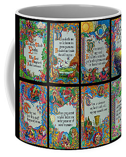 Twenty Third Psalm Collage 2 Coffee Mug