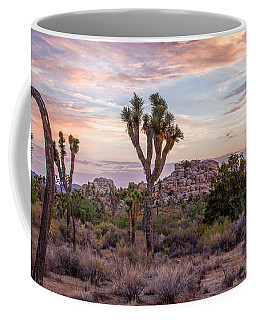 Twilight Comes To Joshua Tree Coffee Mug