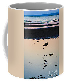 Twilight Heron Coffee Mug