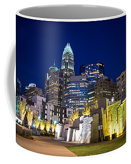Coffee Mug featuring the photograph Twilight In Charlotte by Serge Skiba