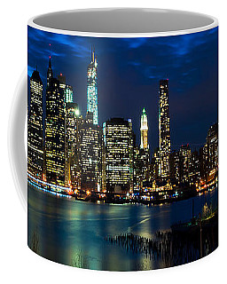 Twilight Nyc Panorama Coffee Mug