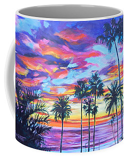 Twilight Palms Coffee Mug
