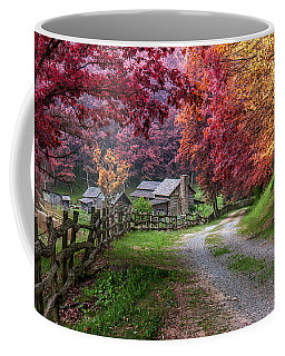 Twin Falls State Park Coffee Mug by Mary Almond