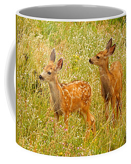 Twin Fawns Coffee Mug