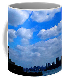 Twin Towers In Heaven's Sky - Remembering 9/11 Coffee Mug
