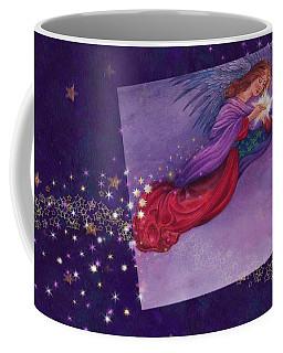 twinkling Angel with star Coffee Mug by Judith Cheng