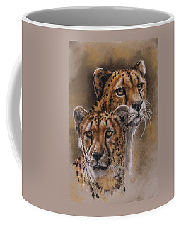 Twins Coffee Mug by Barbara Keith