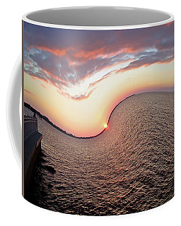 Twisted Sunset Coffee Mug by Aimee L Maher Photography and Art Visit ALMGallerydotcom