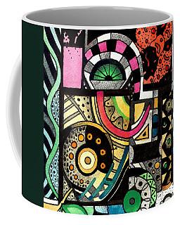 Twisting And Turning Coffee Mug by Helena Tiainen