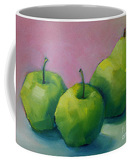Two Apples And One Pear Coffee Mug