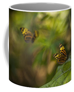 Two Butterflies Coffee Mug
